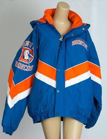 Photo Vintage Denver Broncos Starter Jacket- MensLadies- Size Large - $75 (Briargate)