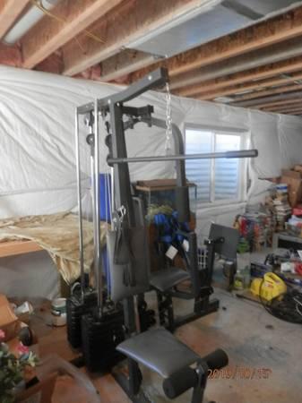 Photo Weider Home Gym - $200