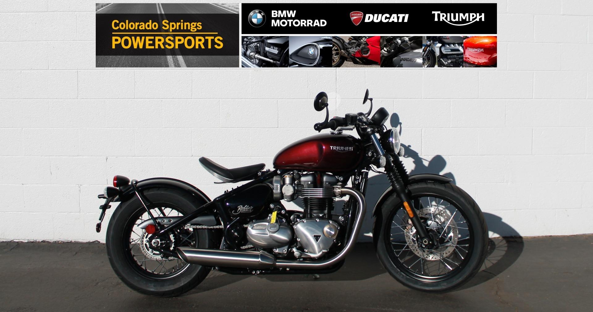 Photo 2020 Triumph Bonneville Bobber $12450