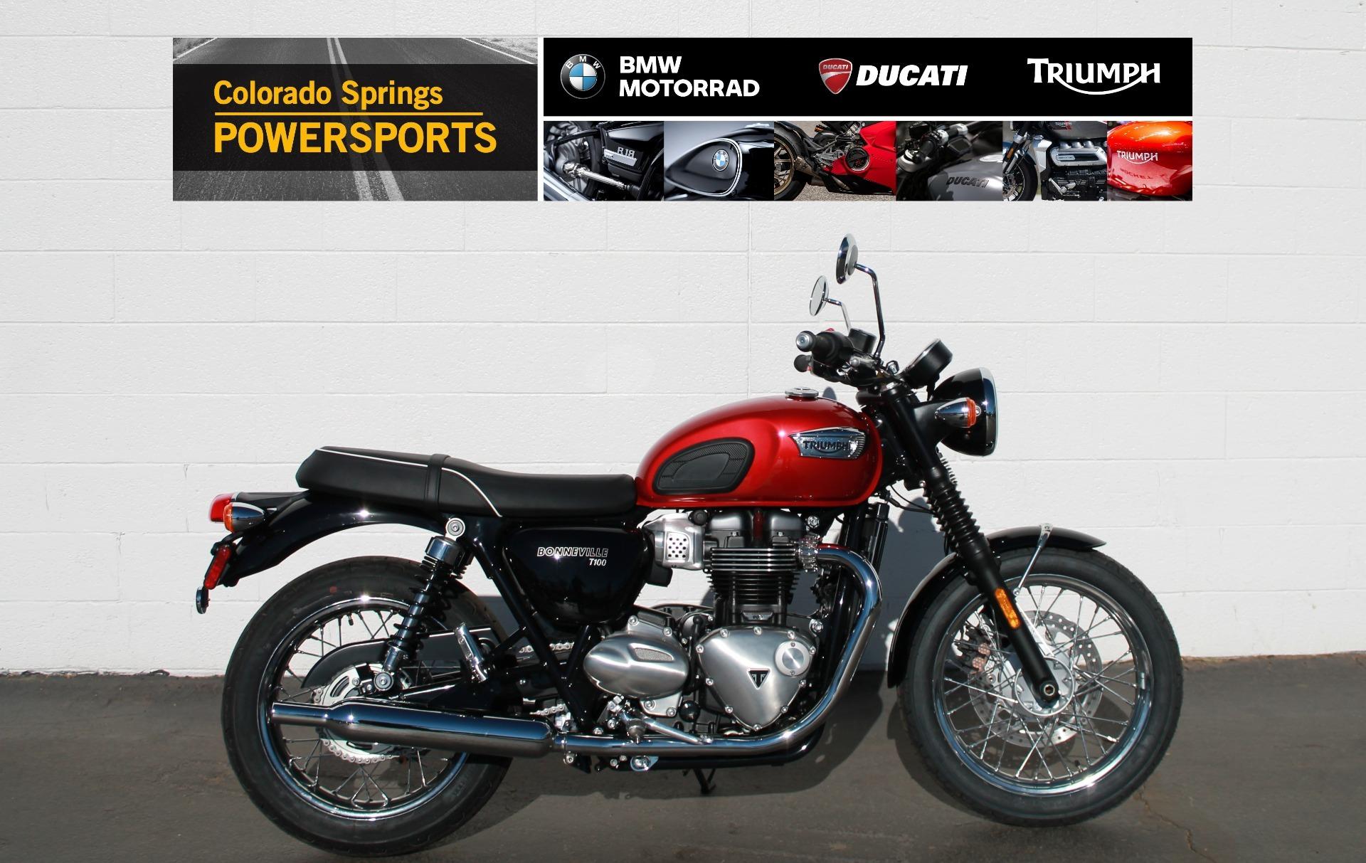 Photo 2020 Triumph Bonneville T100 $10700