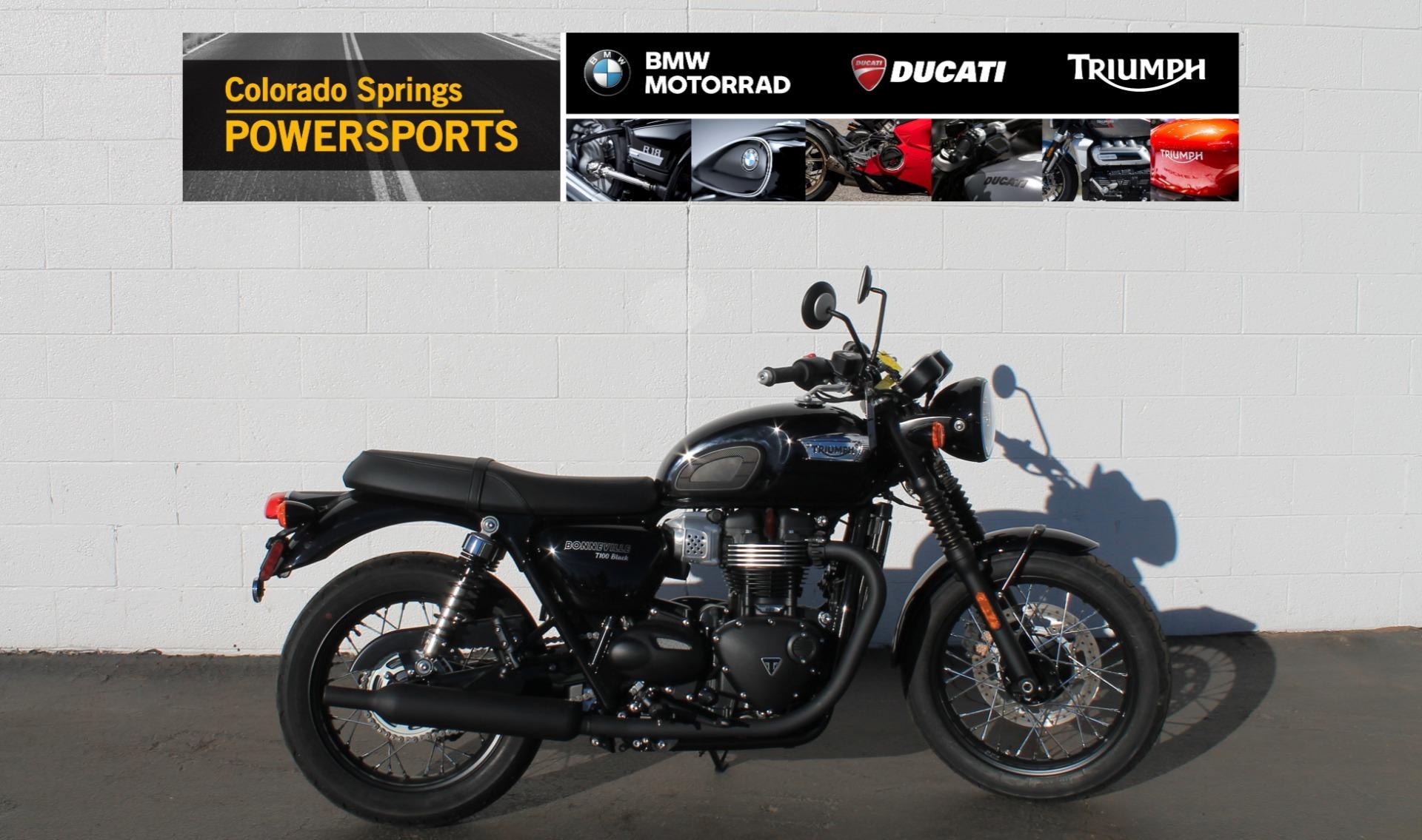 Photo 2020 Triumph Bonneville T100 $10450