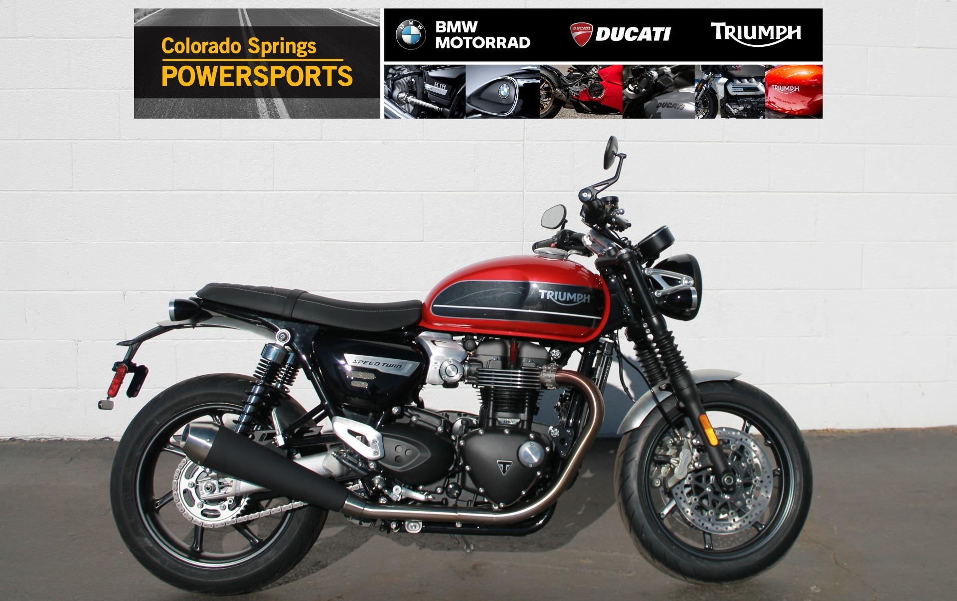 Photo 2020 Triumph Speed Twin $12700
