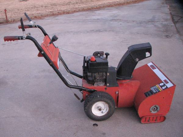 Photo two 24quot snow blowers - $250 (canon city)