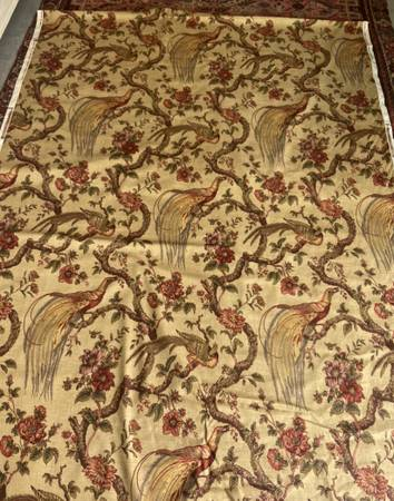 Photo upholstery fabric Waverly - $20 (OLD NORTH END COLO SPRINGS)
