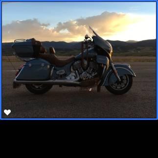 Photo 2016 Diamond Blue Indian Roadmaster. Rare Retro - $18,750 (Mandan)
