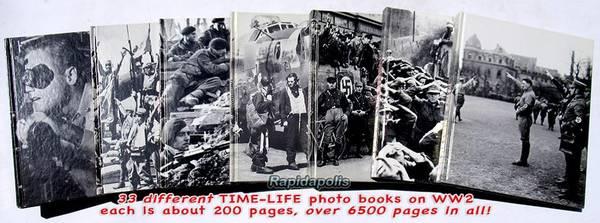 Photo 33 TIME-LIFE PHOTO BOOKS ABOUT WORLD WAR II - $3 (Rapid City, Black Hills, South Dakota)