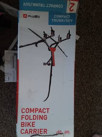 Photo Allen compact folding bike carrier for 2 - $60 (Sioux Falls)