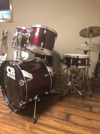 Photo CB Drum Set - $175 (Freeman)