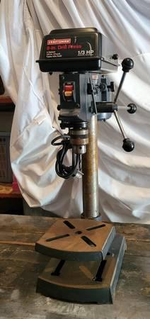 Photo Craftsman 8 Inch Drill Press - $80 (Sioux Falls)