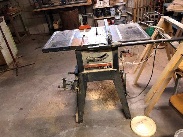 Photo Craftsman Table Saw - $75 (Webster)