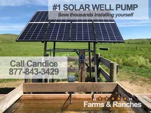 Photo Live the Fantasy with Watering BigFlow 3 diameter Solar well Pump - $1,550 (csd)