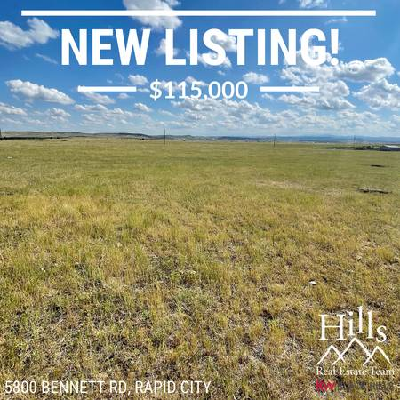 Photo NEW So much potential in this 10 acre pasture land wno covenants (Rapid City)