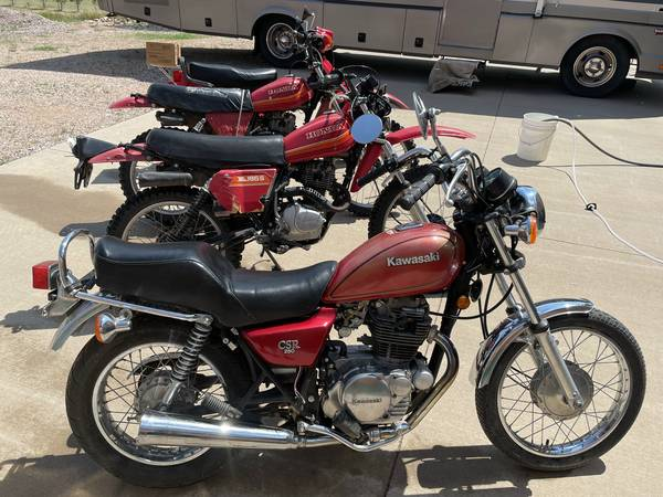 Photo Two motorcycles for sale - $1,000 (Sundance, WY)