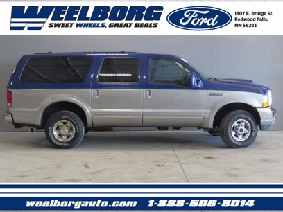 Photo Used 2000 Ford Excursion 4WD Limited for sale