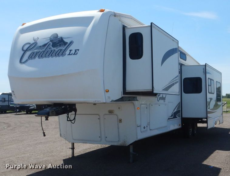 Photo Used 2008 Forrest River Fifth Wheel RV