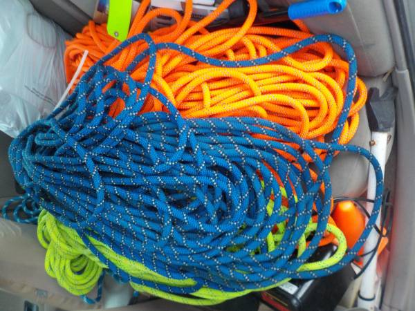 Photo climbing  rescue rope - $195 (Rapid City, SD)