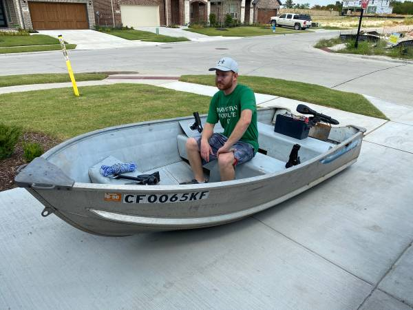 Photo 14 Aluminum Fishing Boat  Sale or Trade - $1,800 (McKinney)