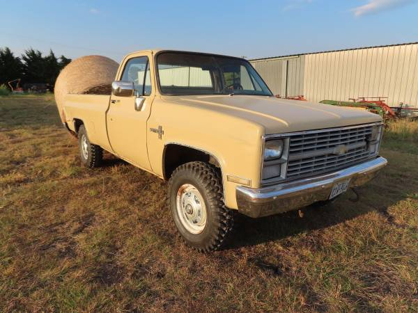 Photo 1983 Chevy K20 - $8,300 (Farmersville, Tx)