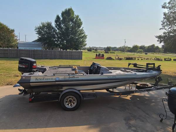 Photo 1991 king fisher bass boat - $3,500 (Tioga)