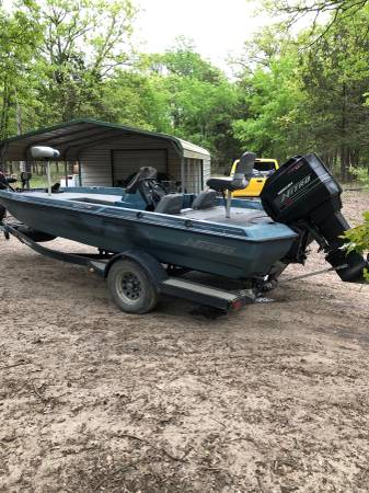 Photo 1994 nitro bass boat - $4000 (Quinlan)