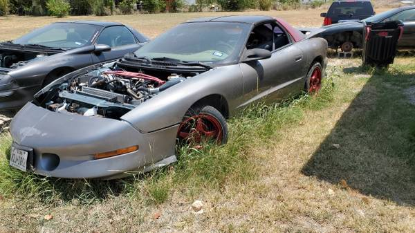 Photo 1997 pontiac trans am firebird roller - $1,100 (Weatherford tx)
