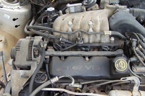 Photo 1999 Mercury Sable 4 dr.- Good Transmission 3.0 V6 12 valve - $150 (Rendon)