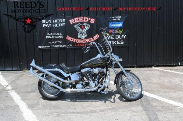Photo 2001 Harley Davidson FXSTDI SOFTAIL DUECE - $9,400 (Harley Davidson FXSTDI)