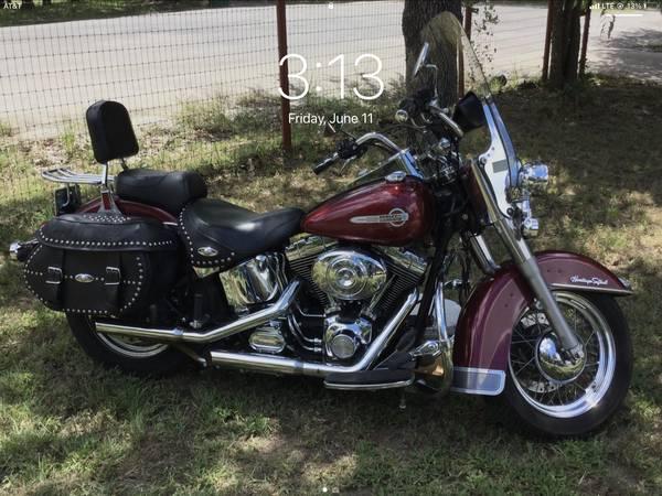 Photo 2002 Harley Heritage Softail - $6,500 (Weatherford)