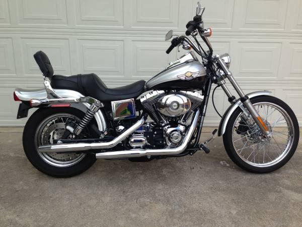 Photo 2003 Harley Davidson Dyna Wide Glide 100th Anniversary - $8999 (Dallas, TX)