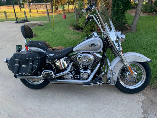 Photo 2008 Harley Davidson Heritage Softail - $12,500 (Flower Mound)
