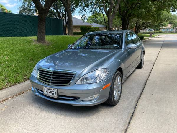 Photo 2008 Mercedes S550, 63K Miles, One Owner, Clean Title, Clean Carfax - $18,800 (Plano)