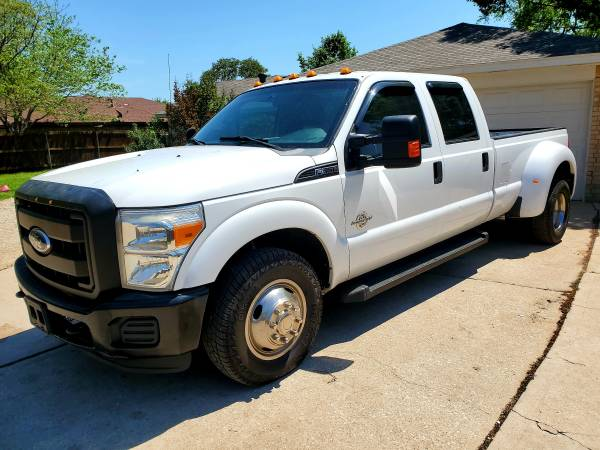 Photo 2012 Ford f350 diesel dually 2wd - $14900 (Mesquite)