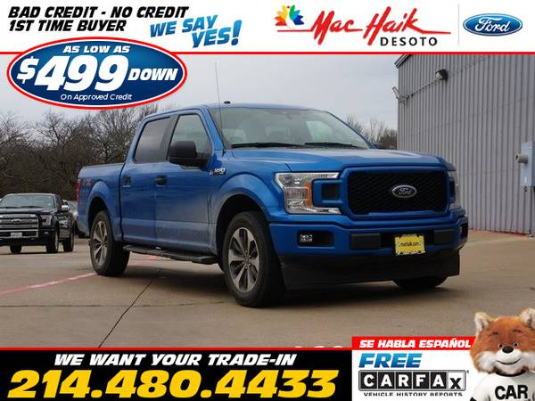 Photo 2019 Ford F-150 STX (- as low as $499 Down oac No-Hassle Financing)