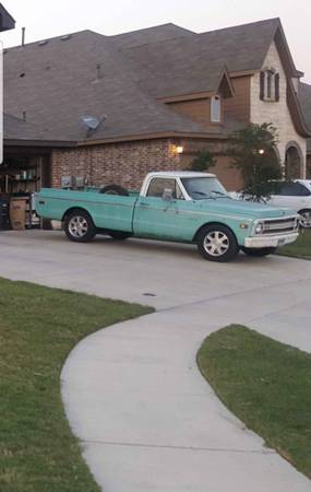 Photo 69 C10 chevy pickup - $5000 (Crowley)