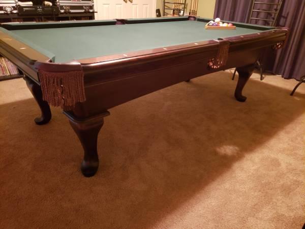 Photo AMF POOL TABLE 8 foot HIGHLANDER LIMITED SIGNATURE - $1000 (CARROLLTON)