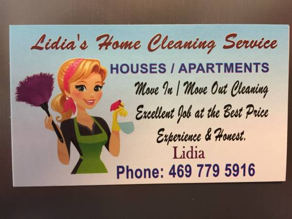 Photo APARTMENT  HOUSE CLEANING move out  move in. Same-day service (all area)