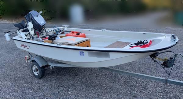 Photo Boston Whaler 11 foot tinder with 25 HP motor - $5,000 (Mckinney to Texoma)
