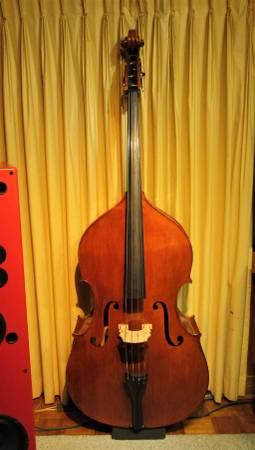 Photo Calin Wultur 2008 Panormo Upright Bass - $5,500 (Garland)