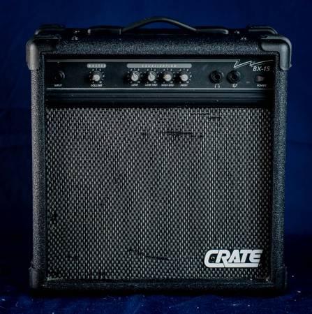 Photo Crate BX-15 Practice Amp - $50 (North Richland Hills)