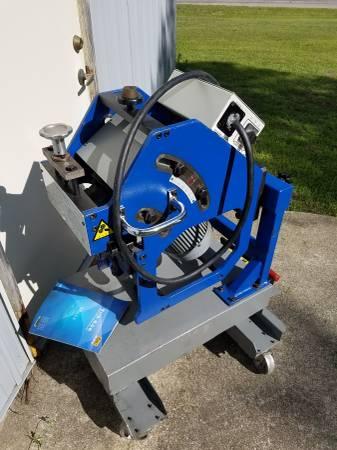Photo FREE SHIP Giret GBM-12C platepipe beveling beveler machine whydraul - $6850 (Evart)