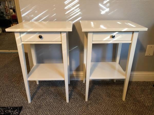 Photo Ikea Hemnes Night Tables - $70 (Plano)