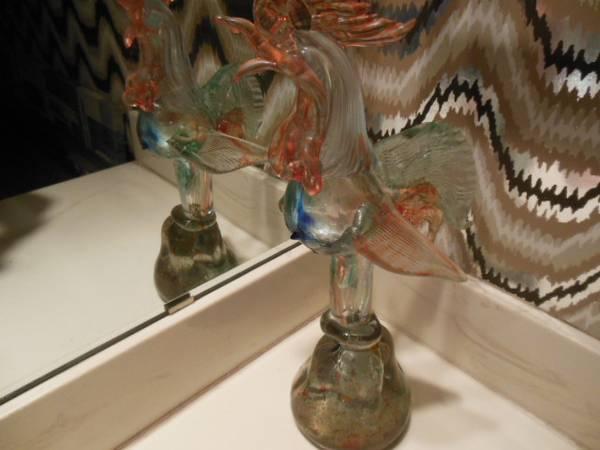 Photo Large Murano Glass Rooster - $39 (Northeast Dallas (White Rock Lake))