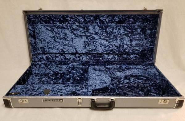 Photo New Rickenbacker Silver  Blue Vintage ReIssue Guitar Case 4All Models - $400 (Burleson TX)
