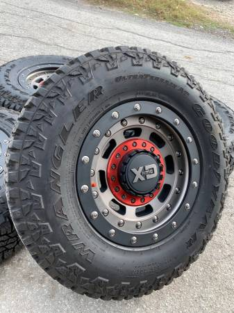Photo New XD Rims  All Terrain Tires 6 Lug Wheels Chevy Colorado GMC Canyon - $1,200 (Dallas)