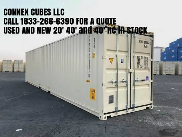Photo New and Used Shipping Container and Storage Containers for Sale. - $1700