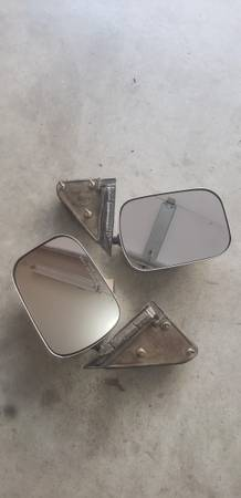 Photo Old Side mirrors for truck Used 198039s CHEVY TRUCK EXTERIOR MIRROR DRI - $100