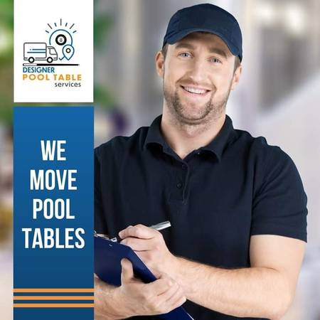 Photo POOL TABLE MOVERS - SERVICING POOL TABLES (DFW-FRISCO)