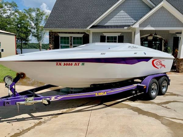 Photo REDUCED 2002 BAJA 20 OUTLAW SPEED BOAT SKI BOAT RUNABOUT - $12,800 (Tyler)