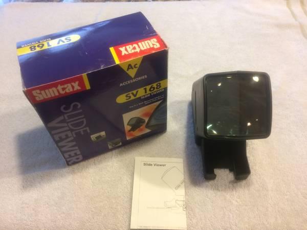 Photo Slide Viewer - Suntax SV 168 - $15 (Plano)