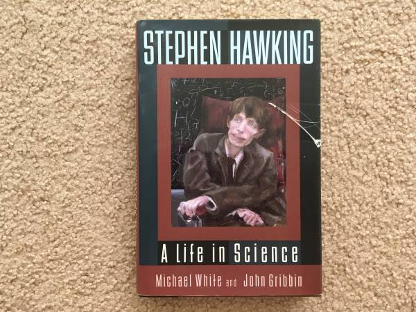 Photo Steven Hawking A Life in Science by Michael White and John Gribbin - $4 (Dallas)